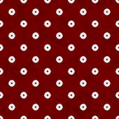 Burgundy Flower Fabric Background — Stock Photo