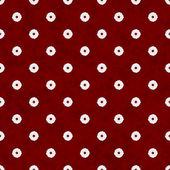 Burgundy Flower Fabric Background — Stock Photo