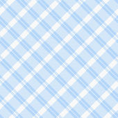 Light blue Plaid Fabric Background — Stock Photo