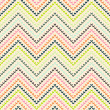 Royalty-Free Stock Vector Image: Zigzag pattern in warm color