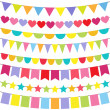 Vector Bunting — Vetorial Stock #11149127
