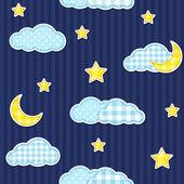 Cielo nocturno — Vector de stock