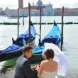 Honeymoon in Venice — Stock fotografie