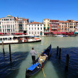 Stock Photo: Gondola in Venice, Italy
