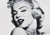 Marylin Monroe — Stockfoto