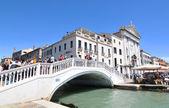 Bridge in Venice, Italy — Stock Photo