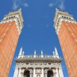 Campanile Tower in Venice, Italy — Stock Photo