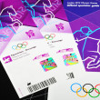 London 2012 tickets — Stock Photo