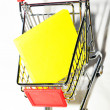 Shopping trolley — Stock Photo #11554630