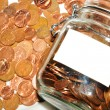 Jar of money — Stock Photo #11554698