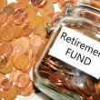 Retirement fund — Stock Photo