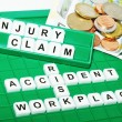 Stock Photo: Injury claim