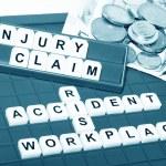 Injury claim — Stock Photo #11556966