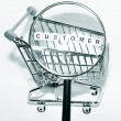 Focus on customer - Foto de Stock
