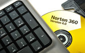 Norton Antivirus — Stock Photo