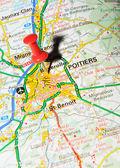 Poitiers, francia — Foto Stock