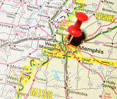 Memphis, Tennessee — Stock Photo