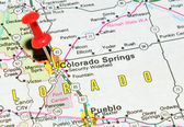 Colorado Springs — Stock Photo