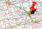 Cedar Rapids, Iowa — Stock Photo