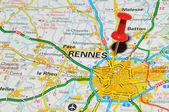 Rennes, france — Photo