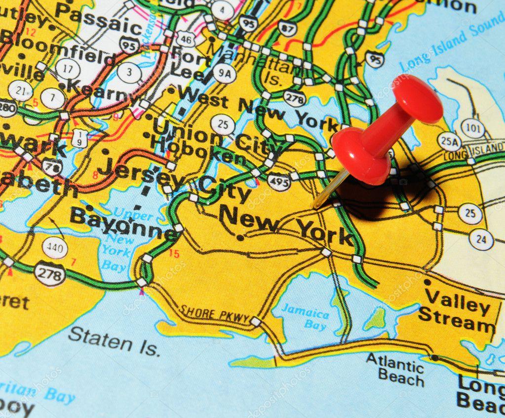 Nowy Jork Mapa Nowy Jork Jest Najbardziej