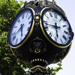 City Clock from Bucharest - Stock Photo