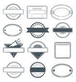 Grunge 邮票帧 — 图库矢量图片