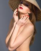 Fashion portrait — Stock Photo