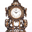Antique clock. — Stock Photo
