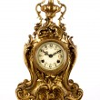 Stock Photo: Antique clock.