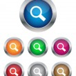 Stock Vector: Search buttons