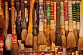 Chinese Colorful Souvenir Ink Brushes Beijing, China — Zdjęcie stockowe