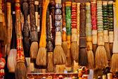 Encre chinoise souvenir coloré brosses à beijing, chine — Photo