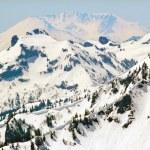 Snowy Mount Saint Helens and Ridge Lines — Stock Photo #10791786