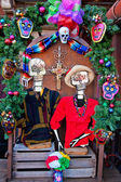 Mexican Christmas Dead Decorations Old San Diego Town California — Stock Photo