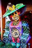 Figura morto natale messicano decorazioni vecchio san diego città cal — Foto Stock