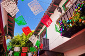 Christmas Decorations Old San Diego Town California — Stock Photo