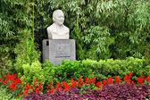 Soong ching ling eşi sun yat-sen'in anıt heykel bahçe pekin — Stok fotoğraf