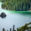 Diablo Lake Boat North Cascades National Park Washington Pacific - Stock Photo
