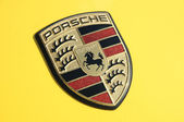 Porsche logo — Stock Photo
