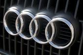Audi logo — Zdjęcie stockowe