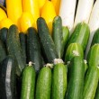 Cucumber and zucchini — Foto Stock