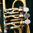 Stock Photo: Brass instrument