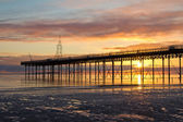 Dawn at the Pier — Stock Photo
