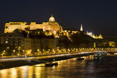 Budapest in the evening — Stock Photo