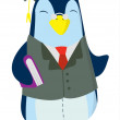 Stock Vector: Penguin Study