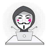 Hacker — Stock Vector