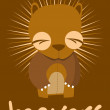 Vector de stock : Beavers