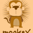 Monkey — Stock Vector #11972581