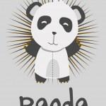 Panda vector — Stock Vector #11972602